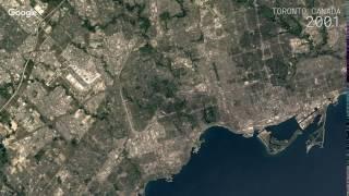 Download Google Timelapse: Toronto, Canada Video