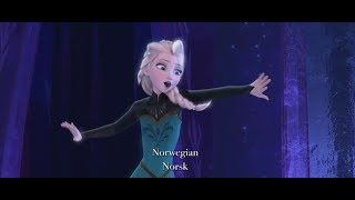 Download Disney's Frozen - ″Let It Go″ Multi-Language Full Sequence Video