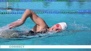 Download SWIMMER Magazine Common Freestyle Breathing Mistakes Video