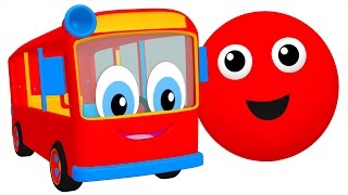 Download ″The Bus is Red″ | Colors Song for Kids to Learn, Teach Colours, ESL Leaning Video by Busy Beavers Video