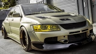 Download MITSUBISHI EVO 9 BEST OF THE BEAST! Video