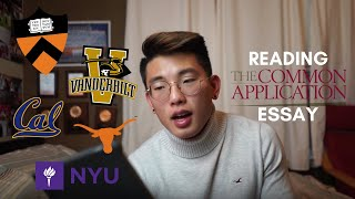 Download READING THE ESSAY THAT GOT ME INTO PRINCETON Video