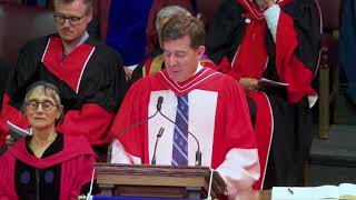 Download Richard Nunn, Convocation 2018 Honorary Degree Recipient Video