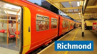 Download South West Trains and London Underground at Richmond, featuring Celia Video