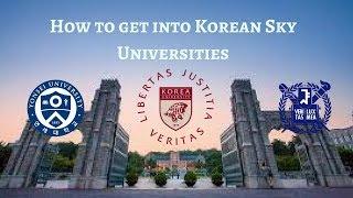 Download How to get into SKY Universities [Yonsei, Korea University] Video