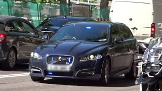 Download Massive Unmarked Police Car Convoy London Video
