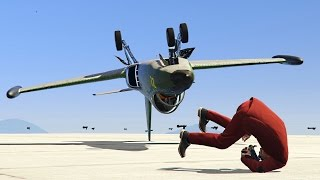 Download DODGING CRAZY PLANE STUNTERS! (GTA 5 Funny Moments) Video