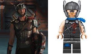 Download LEGO THOR RAGNAROK - Minifigures VS Movie Video