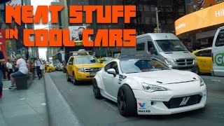 Download We Took The Craziest Street-Legal Drift Car In The World To Times Square | Neat Stuff in Cool Cars Video
