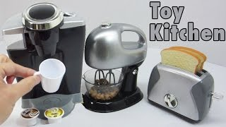 Download Toy Kitchen Playset for Children - Kids Gourmet Kitchen Appliances - Konapun Video