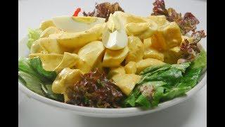 Download Curried Egg and Potato Salad | New Season | Cooksmart | Sanjeev Kapoor Khazana Video