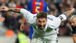 Download Barcelona 1-1 Real Madrid RAMOS LAST MINUTE GOAL GIVES MADRID VITAL POINT Video