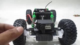 Download Modifikasi Rc Rock Crawler QD ke PROPO | RC MODIFY CRAWLER 4WD | Flysky GT2B + ESC + metal servo Video