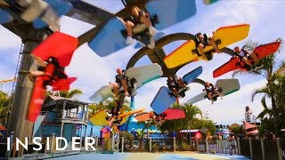 Download Spin Yourself 360 Degrees On Australian Thrill Ride Video
