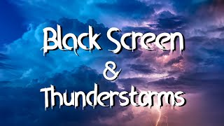 Download ⛈️ Heavy Rainfall with loud strong Thunderstorms Black Stormy on a Moonless Night Video