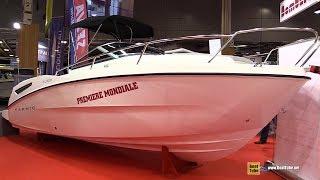 Download 2017 Karnic SL 600 Motor Boat - Walkaround - 2016 Salon Nautique Paris Video