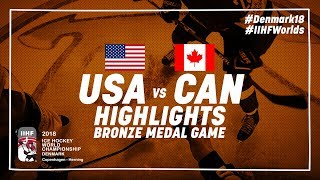 Download Bronze Medal Game Highlights: United States vs Canada May 20 2018 | #IIHFWorlds 2018 Video