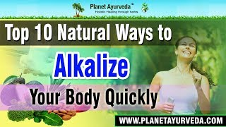 Download Top 10 Natural Ways to Alkalize your Body Quickly Video
