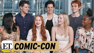 Download EXCLUSIVE: The Cast of Riverdale Teases New Love Interests - Find Out Who's Pairing Up Video