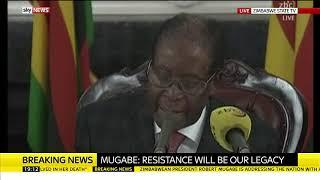 Download Robert Mugabe refuses to resign Video