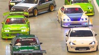 Download AMAZING RC DRIFT CAR RACE MODELS IN ACTION / Modell Süd Stuttgart 2016 Video