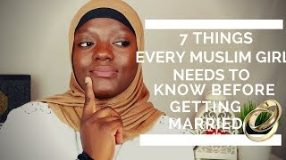 Download WHAT EVERY MUSLIM GIRL NEEDS TO KNOW BEFORE GETTING MARRIED Video