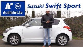 Download 2016 Suzuki Swift Sport 5-Türer - Fahrbericht der Probefahrt, Test, Review Ausfahrt.tv Video