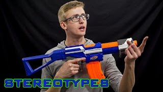 Download NERF STEREOTYPES | THE FICKLE BUYER Video
