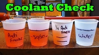 Download When will your coolant freeze? (How to check engine coolant freeze temp) Video