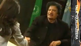 Download Muammar Gaddafi - Talk to Jazeera - 25 Sep 09 Video