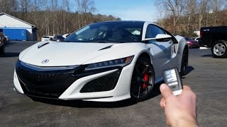 Download 2017 Acura NSX: Start Up, Exhaust, Walkaround and Review Video