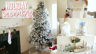 Download DECORATE WITH ME: Christmas / Holiday Decorating! Video
