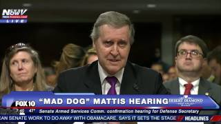 Download FULL VIDEO: Confirmation Hearing of James ″Mad Dog″ Mattis, Trump's Secretary of Defense Pick - FNN Video