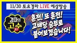 Download 배당/배당 꽝하고 터진다!! 고배당 노릴 11/30 토요경마 라이브예상방송!! Video