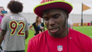 Download Tyreek Hill honored to make Pro Bowl in rookie season Video