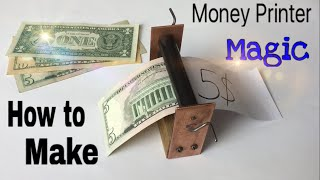 Download How to Make a Money Printer Machine - Easy Way - Magic Trick - Tutorial Video