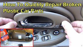 Download How To Repair Broken Plastic Car Parts Video