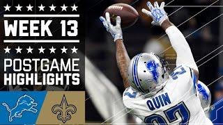 Download Lions vs. Saints (Week 13)   Game Highlights   NFL Video