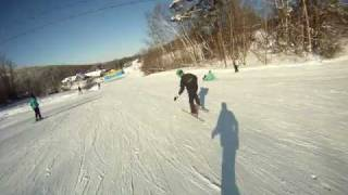 Download Snowboarder Vs Skier Video