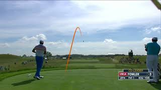 Download Rickie Fowler reaches 632 yard par 5 at 2017 US Open Video