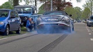 Download Supercars Accelerating LOUD! C63 AMG, SLR McLaren, GT3, Aventador LP750-4 SV Video