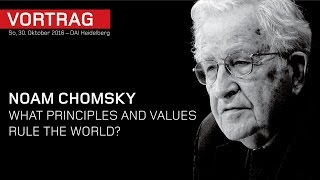 Download Noam Chomsky – What principles and values rule the world? – DAI Heidelberg Video