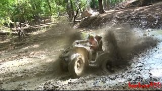 Download Renegade Couple Slinging Mud at the Boots in the Mudd Ride at River Run Video