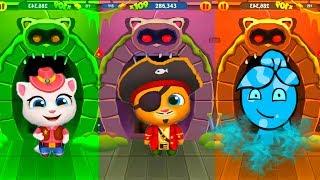 Download АНДЖЕЛА ПИРАТ против ТОМА! МОЙ ГОВОРЯЩИЙ ТОМ БЕГ ЗА ЗОЛОТОМ мультик игра для детей Video