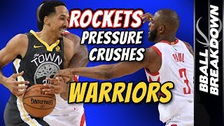 Download ROCKETS Pressure Crushes Warriors In Game 4 Video