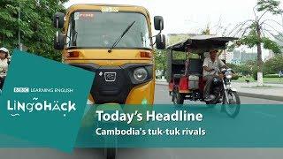 Download Cambodia's tuk-tuk rivals: Lingohack Video