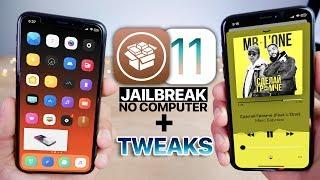 Download iOS 11.3.1 Jailbreak & Top 25 Tweaks To Install! No Computer Video