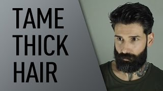Download How to Tame Thick Hair | Carlos Costa Video