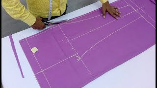 Download Women Pant | Ladies Pajama Pant Cutting and Stitching Video