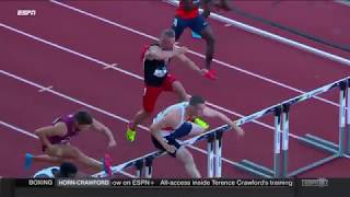 Download Highlights | NCAA Men's 110m Hurdles Heat 3 Video